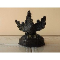 Antiga escultura chinesa em bronze