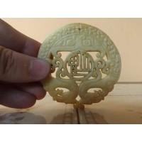 Escultura oriental em forma de mandala
