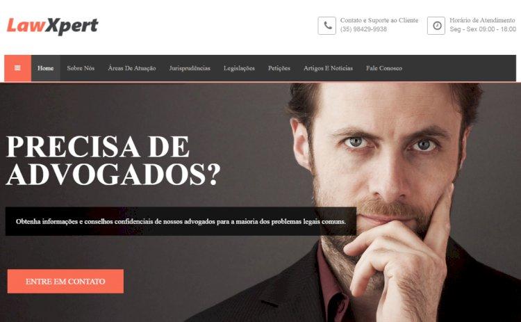 J-Advogados LawExpert - Site Pronto para Advogados