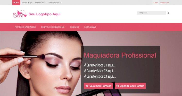 J-Salon - Site Pronto para Salão de Beleza