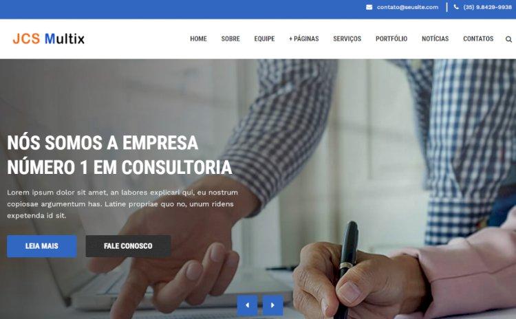 JCS Multix - Site Pronto para Empresas