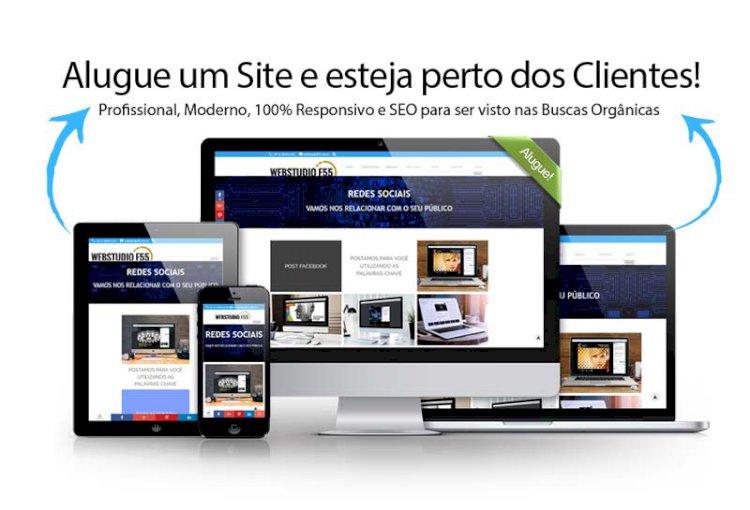 Aluguel de Sites Prontos de Fácil Atualização